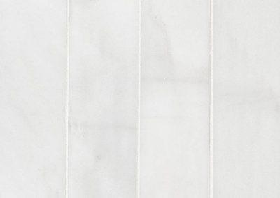 Arabescato Carrara 3x12 Picked Honed Kitchen Backsplash Subway Tile