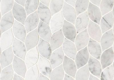 Carrara White Blanco Kitchen Backsplash Tile