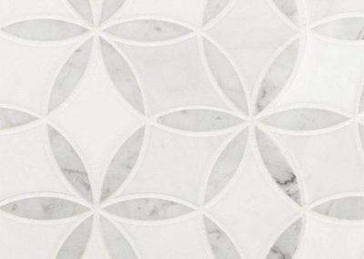 La Fluer Kitchen Backsplash Tile
