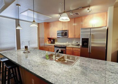 Blizzard Granite Kitchen Countertop