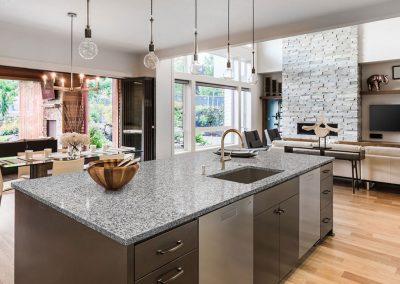 Osprey White Kitchen Countertop