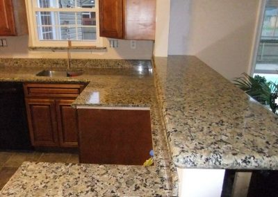 Ferro Gold Granite Kitchen Countertop