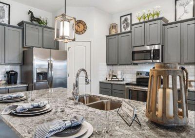 Silver Falls Granite Kitchen Countertop