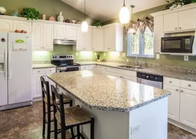 Perla Tao Granite Kitchen Countertop