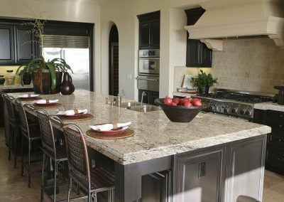 Snowfall Granite Kitchen Countertop