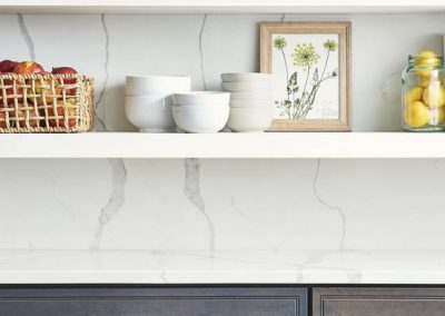 Calacatta Classique Quartz Kitchen Countertop