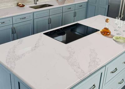 Calacatta Venice Quartz Kitchen Countertop