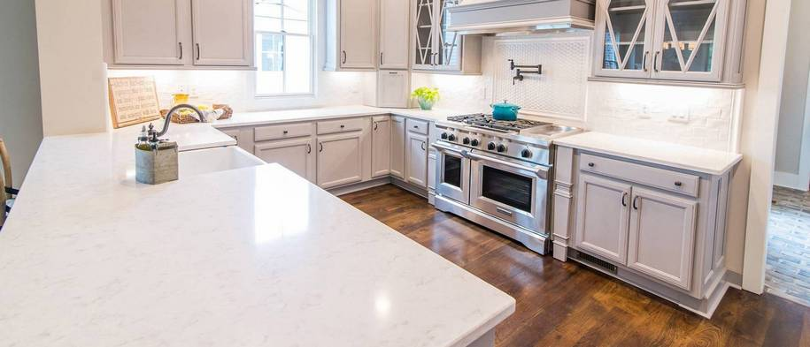Quartz Kitchen Countertop Installation in Colorado Springs