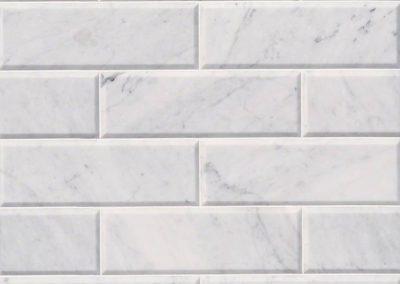 Arabescato Carrara Kitchen Backsplash Subway Tile