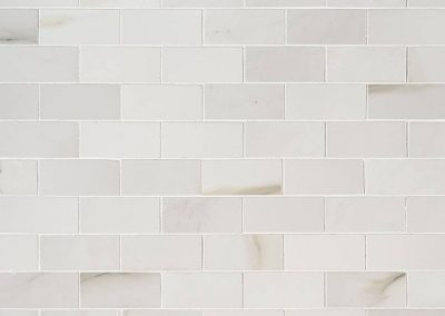 Aria Bianco Kitchen Backsplash Subway Tile