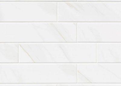 Classique White Calacatta Glossy 4 x 16 BLN