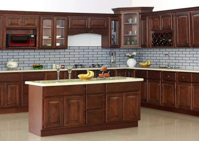 Cherry Arch (Traditional) Kitchen Cabinets in Colorado Springs
