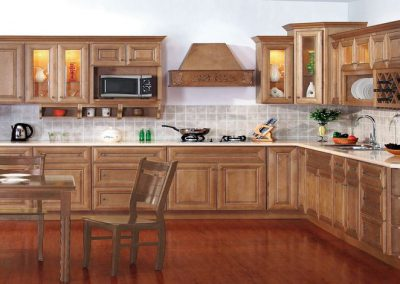 Ginger Square Traditional Kitchen Cabinets in Colorado Springs